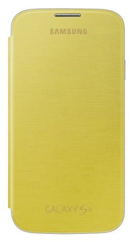 Samsung EF-FI950BYEG Yellow flip pouzdro Galaxy S4