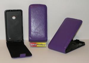 Pouzdro FLIP Nokia Lumia 625 Fialové