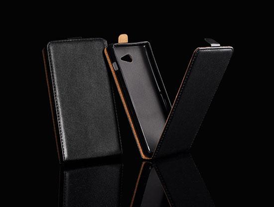 Pouzdro Forcell Slim Flip Flexi Samsung S7272/S7275 Galaxy Ace 3 Černé