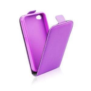 Pouzdro ForCell Slim flip flexi Apple Iphone 6 Světle fialové