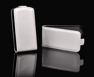 Pouzdro Slim Flip Case 2 Sony Xperia Z2 Bílé