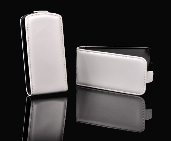Pouzdro Slim Flip Case 2 Sony Xperia Z2 D6503 Bílé