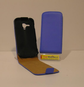 Pouzdro ForCell Slim Flip Samsung N910 Galaxy Note 4 Tmavě modré