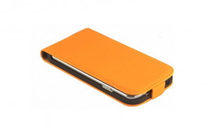 Pouzdro ForCell Slim Flip HTC Desire 310 Oranžové