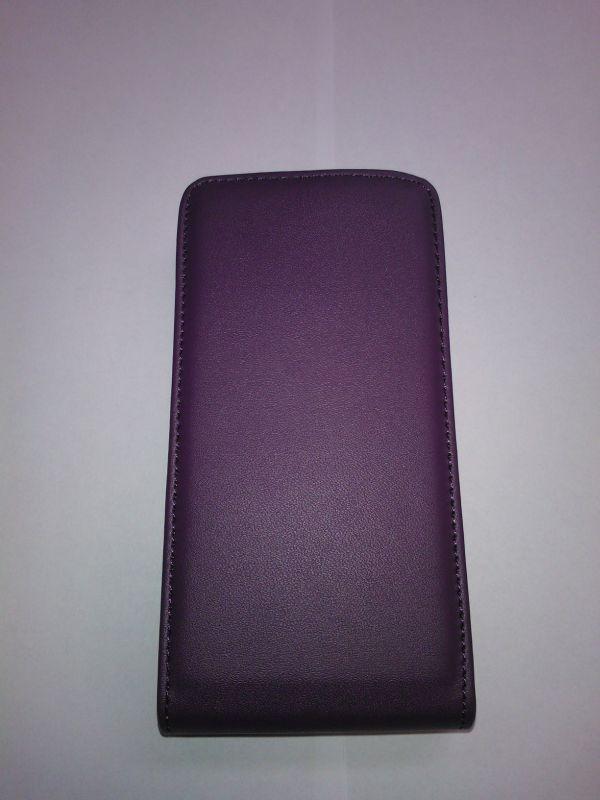 Pouzdro ForCell Slim flip Nokia Lumia 625 fialové