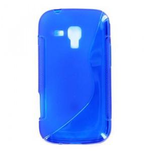 Silikonové pouzdro S-Case pro Sony Xperia Z1 Mini (Compact) modrá