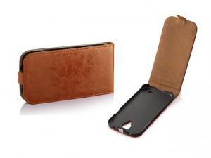 Pouzdro Toscana Elegance pro Sony Xperia M2 D2303 Coral
