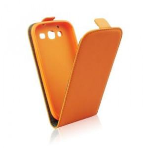 Puzdro ForCell Slim Flip Nokia Lumia 730 Oranžové