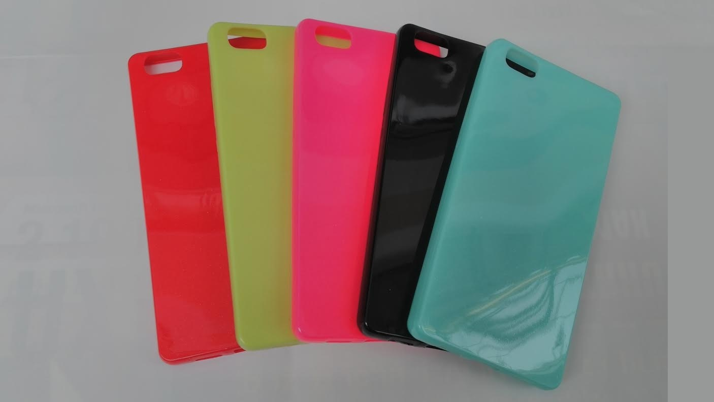 Candy Case Ultra Slim Huawei Ascend P8 Lite Růžové
