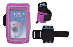 Puzdro JEKOD na ruku Samsung Galaxy S3 i9300/i9301 Světle fialové