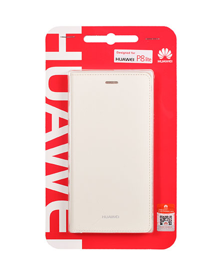 Huawei Original Folio Pouzdro White pro P8 lite (EU Blister)