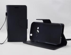Puzdro Fancy Case Samsung Galaxy Xcover 3 G388 Černé