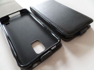 Pouzdro ForCell Slim flip flexi Apple Iphone 6 Černé