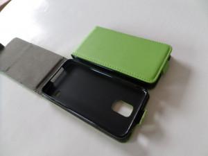 Pouzdro ForCell Slim flip flexi Huawei Ascend P8 Lite Zelené