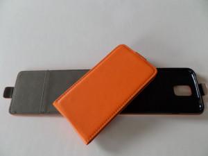 Pouzdro ForCell Slim flip flexi Samsung G7105 Galaxy Grand 2 Oranžové