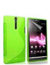 Silikonové pouzdro S-Line Case pro LG L90 Zelené