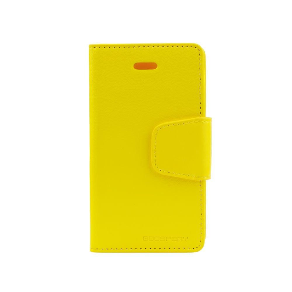 Pouzdro Sonata  Goospery Leather Flip Samsung Galaxy S3 Mini i8190/i8200 Žluté