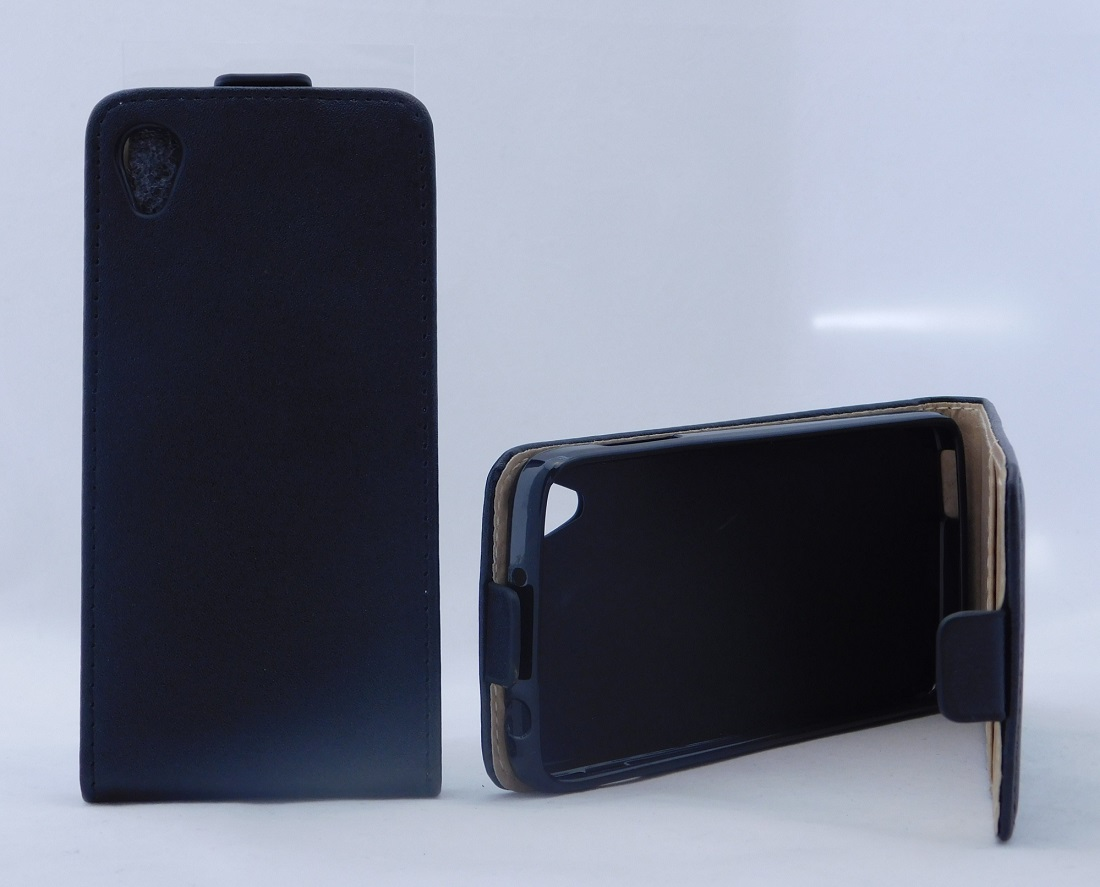 Pouzdro Forcell Slim Flip Flexi Alcatel One touch IDOL 3 6039Y 4.7 černé
