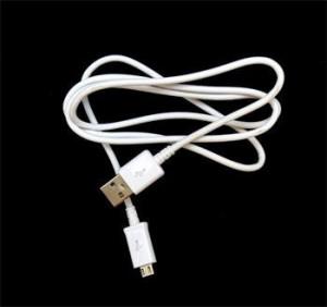 ECBDU4AWE Samsung microUSB Datový Kabel White