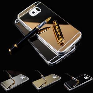 Pouzdro MIRROR CASE TPU Samsung Galaxy J5 J500 Zlaté