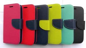 Pouzdro TEL1 Fancy Diary Huawei Ascend P8 Modré