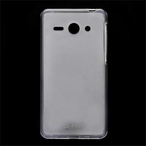 JEKOD TPU Ochranné Pouzdro White pro Huawei Ascend P7