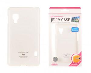 Pouzdro Goospery Mercury Jelly LG L5 II/E460 Bílé