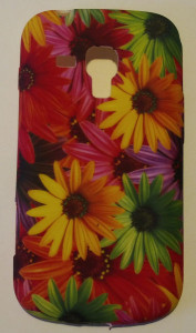 Pouzdro JELLY CASE Sony Xperia Z1 mini (Compact) Flowers