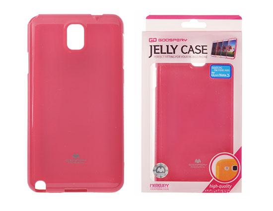 Pouzdro Goospery Mercury Jelly Samsung N9005 Galaxy Note 3 růžové
