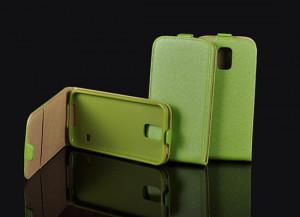 Pouzdro ForCell Slim Flip 2 Flexi D2303 Sony Xperia M2 Zelené