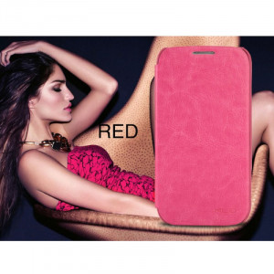 Kalaideng ENLAND book pouzdro Samsung i9500, i9505 Galaxy S4 tmavě růžové