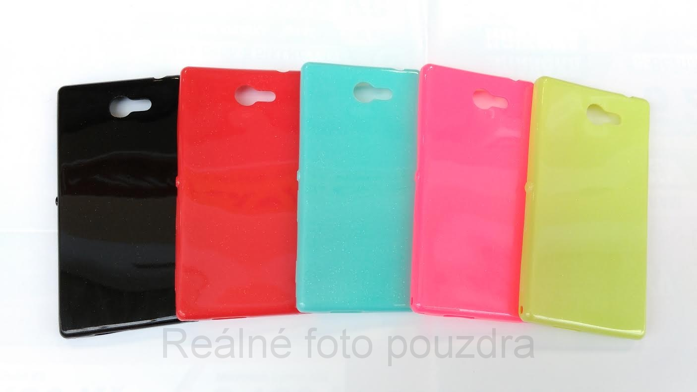 Candy Case Ultra Slim Sony Xperia M2 D2303 Černé