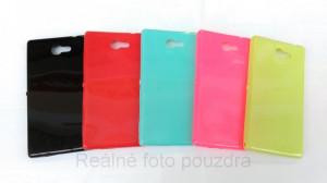 Candy Case Ultra Slim Sony Xperia M2 D2303 Červené