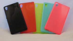 Candy Case Ultra Slim Sony Xperia M4 Aqua E2303 Červené