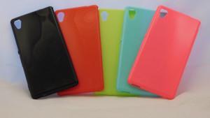 Candy Case Ultra Slim Sony Xperia M4 Aqua E2303 Limetka