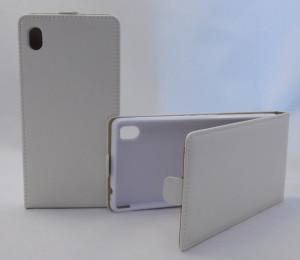 Pouzdro Forcell  Flip 2 Flexi Sony Xperia M4 Aqua E2303 Bílé