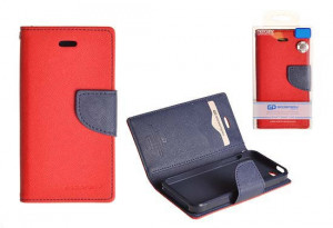 Pouzdro Goospery Mercury Fancy Diary Samsung Galaxy Alpha G850 Červené