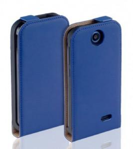 Pouzdro ForCell Slim Flip Nokia Lumia 730 735 Modré