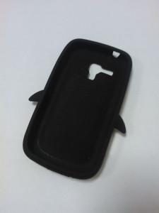 Silikónové puzdro Pinguin Case pre Nokia X