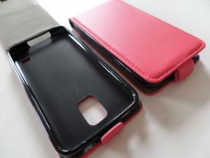 Pouzdro Forcell Flip Flexi Nokia lumia 630 635 Růžové