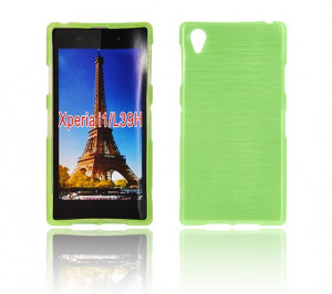 Puzdro JELLY CASE Plum Samsung G900 Galaxy S5 Zelené