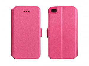 Pouzdro Book Flexi Pocket Samsung Galaxy Xcover 3 G388 Růžové