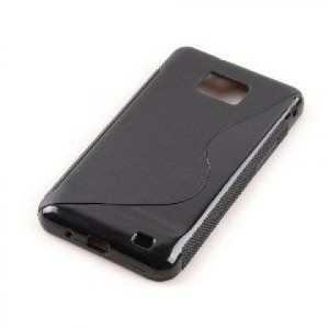 Pouzdro S-Line Case pro Sony Xperia C C2305 S39h černé silikonové pouzdro