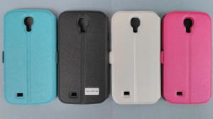 Pouzdro Book Flexi Pocket Samsung Galaxy S4 i9505 Bílé