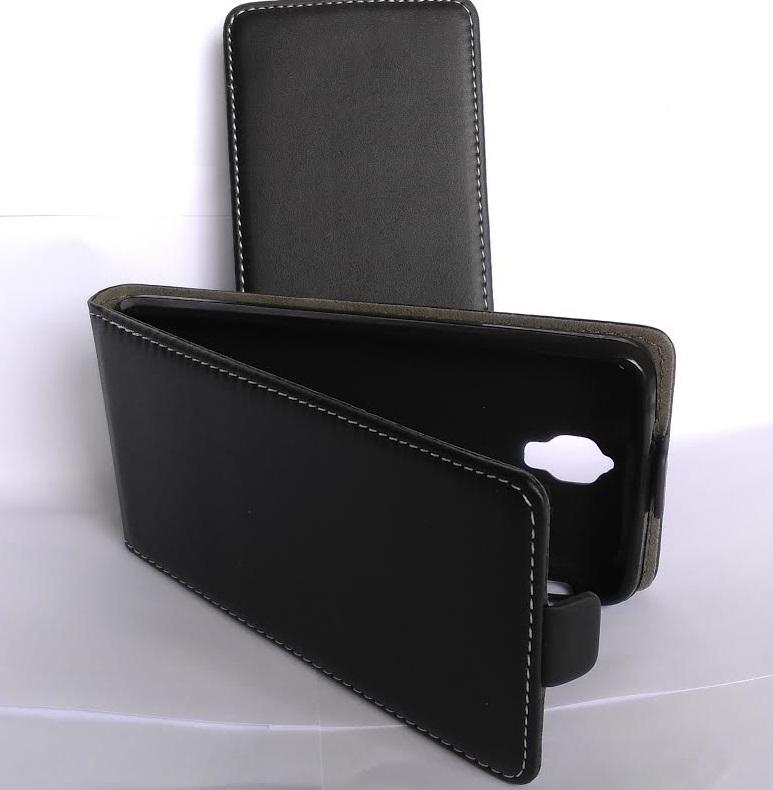 Pouzdro Forcell Slim Flip Flexi Lenovo S660 Černé