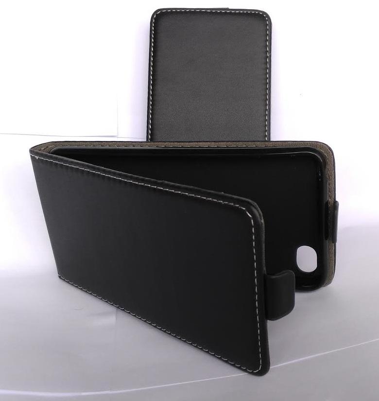 Pouzdro Forcell Slim Flip Flexi Lenovo S90 Černé