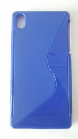 Silikonové pouzdro S-Case pro Nokia X Dual modré