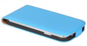 Pouzdro ForCell Slim Flip LG L90 Světle modré