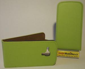 Pouzdro Slim Flip Case 2 LG G3 D855 Zelené