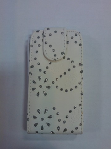 Pouzdro Sligo Cyrkonia pro Samsung i8260/i8262 Galaxy Core DS bílé